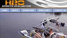 Robert Breisch Portfolio Work - H2O Sports Unlimited Website Conversion