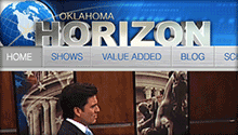 Robert Breisch Portfolio Work - Oklahoma Horizon TV Website (latest version)